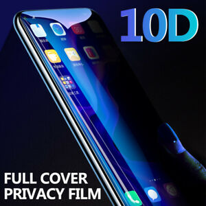 10D Privacy Anti-Spy Tempered Glass Screen Cover For Huawei Nova 5 Honor 20 P30