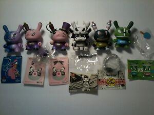 Kidrobot Dunny 2012 Lot of 6