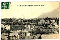 CPA 73 Savoie Aix-les-Bains Villas du Boulevard des Anglais