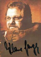 Tarjeta Autografiada Autografiado Klaus Parte