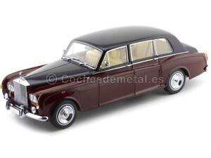 1968 Rolls-Royce Phantom VI Red-Black 1:18 Kyosho 08905RBK