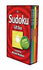 The Sudoku Gift Box Game by Michael Mepham New in Plastic Wrap Free Shipping!