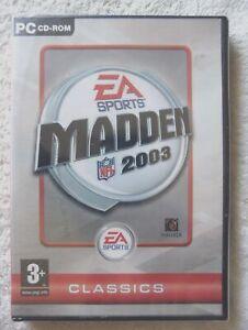 77491 - Madden NFL 2003 [NEW / SEALED] - PC (2002) Windows XP