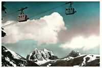 Engelberg, Switzerland Cable Car in the Alps Postcard
