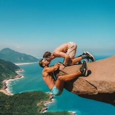 Greeting card / 2 Hikers / Higher Love / Gay Interest