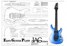 Luthiers el plan del proyecto/Dibujo Para Guitarra Ibañez S Tipo Ideal Regalo P070