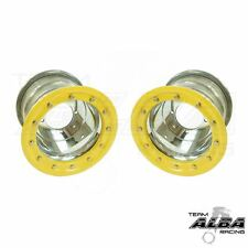 LTZ 400 LTR 450 Pair  Rear Wheels  Beadlock 10x8  5+3  4/110  Alba   PY
