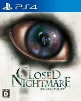 NEW PS4 CLOSED NIGHTMARE JAPAN OFFICIAL IMPORT