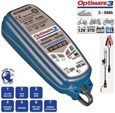 Chargeur Mainteneur Optimate 3 TM430 Batteries Plomb / Acide 12V Moto Voiture