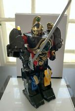 Bandai vintage Power Rangers Thunder Megazord toy used complete