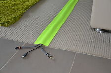 Cable Cover for Carpet - 100mm(width) x 10mtrs(length) - High Vis Yellow - (C)