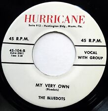 BLUEDOTS 45 My Very Own / Mary Had A Rock N.. NEAR MINT Doo Wop REISSUE bb3280