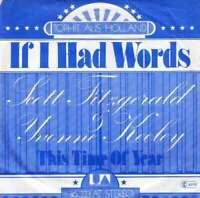 "Scott Fitzgerald & Yvonne Keeley If I Had W 7"" Single Vinyl Schallplatte 28484"