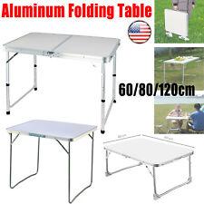 Portable Folding Camping Table Aluminium Carry BBQ Desk Kitchen Outdoor Picnic