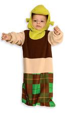 SHREK Plush Bunting Costume w/ Headpiece Newborn Baby Infant Age 0 9 months