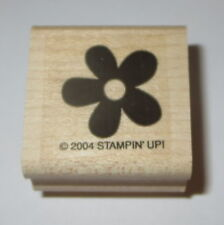 Flower Stampin' Up! Rubber Stamp New Wood Mounted Retired Petals