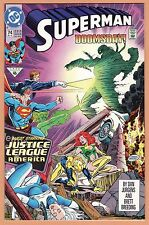 SUPERMAN #74 (1992) SUPERMAN vs. DOOMSDAY  MINT 9.9  Unread  Near Flawless