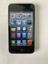 Apple iPod Touch 4th Generation 16GB A1367 Black / Chrome in working order