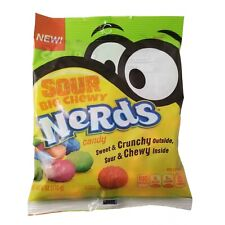 Sour Big Chewy Nerds - 8 PACKS of 6oz Bags - FREE SHIPPING - New Candy