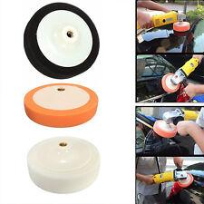 3 x M14 Thread Polishing Sponge Heads Auto buffing Soft Pads Car Cleaning 150MM