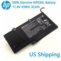 Genuine NP03XL for HP ENVY X360 15-U011DX Battery 43WH 761230-005 HSTNN-LB6L OEM