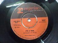 "DINO DESI & BILLY 367 RARE SINGLE 7"" INDIA INDIAN 45 rpm VG+"