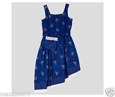 New live action Beauty and the Beast Dress Easter Disney blue Village 14-16 girl