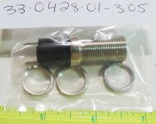 """Dialight 33-0428-01-305 9/16"""" 6-60V Mini Pilot Light w/ 33-0112-300 Green Lens"""