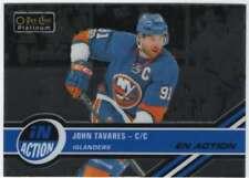 2017-18 O-Pee-Chee Platinum Hockey In Action #IA-20 John Tavares NY Islanders