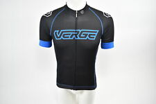Verge XS Men's Core Relaxed Short Sleeve Cycling Jersey Black/Blue New