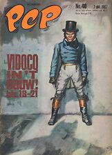 PEP 1967  nr. 40 - VIDOCQ (COVER HANS G. KRESSE)/NEC NIJMEGEN (POSTER)/COMICS