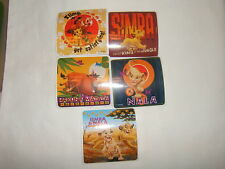 5- Lion King Hakuna Matata   Stickers Party Favors