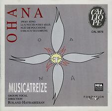 OHANA  swan song - lux noctis - dies solis ... ENS. MUSICATREIZE - HAYRABEDIAN