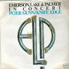 JUKEBOX single 45 EMERSON LAKE PALMER PETER GUNN THEME
