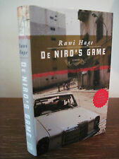 1st/1st Printing DE NIRO'S GAME Rawi Hage DUBLIN IMPAC Modern CLASSIC