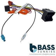 VW VOLKSWAGEN Golf Plus 03 Radio Stereo Wiring Harness Adapter Lead ISO Aerial