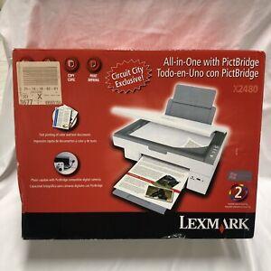 NEW Lexmark X2480 All In One Inkjet Printer With PictBridge NIB Circuit City