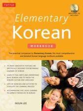 Elementary Korean Workbook: Audio CD Included