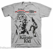KARATE KID 1984  T-Shirt  camiseta cotton officially licensed