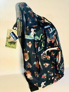 NEW W/Tags Kavu Rope Sling Bag Sasquatch Bigfoot Yeti Nessi Special Edition RARE