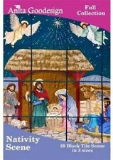 Anita Goodesign Nativity Tile Scene Embroidery Machine Design CD NEW 103AGHD