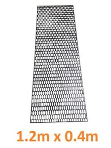 UNIVERSAL BLACK PLASTIC ABS HONEYCOMB MESH BUMPER GRILL VENT HONEY COMBE - HC02