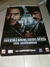 AFFICHE SHERLOCK HOLMES A GAME OF SHADOWS 4x6 ft Bus Shelter Poster Original