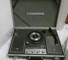 National Stereo Plattenspieler Radio Koffergerät Turntable True Vintage
