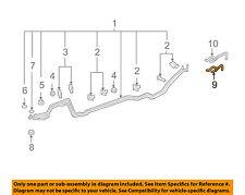 Buick GM OEM 08-17 Enclave 3.6L-V6 Rear Ac Lines-Inlet Hose 20765678