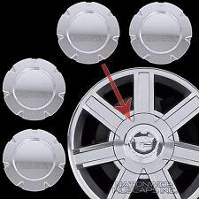 """07-14 Cadillac Escalade 18"""" Chrome Wheel Center Hub Caps 6 Lug Rim Cover Hubs C"""
