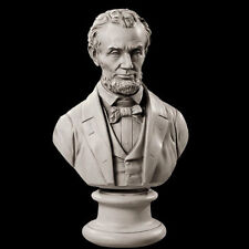 Abraham Abe Lincoln American US President Bust Sculpture Replica Reproduction