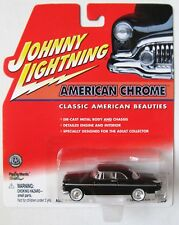JOHNNY LIGHTNING R3 AMERICAN CHROME 1955 CHRYSLER C-300 Black & Beige