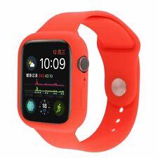 Funda Protectora De Estuche silicona reloj banda correa para Apple Watch 5 4 3 2 1 Series