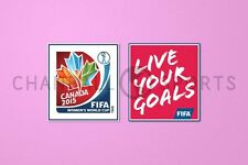 Women's World Cup & Live Your Goals 2015 Soccer Patch / Badge